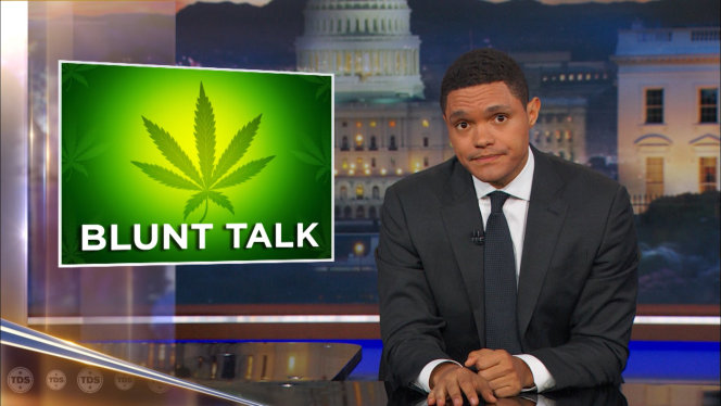 daily show reefer madness